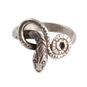 Anello in Argento con Serpente
